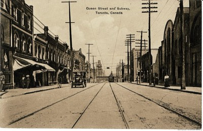 q 1249 Queen St W rhino to right 1920 c