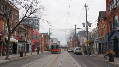 q 1296 Queen St W Cadillac to left. 2016 a