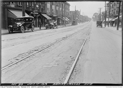 r 400 Roncesvalles Ave 1919