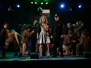 PVHS Drama presents Urinetown - performance photo - pvhsdrama.com