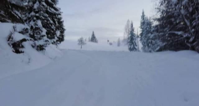 put snijeg