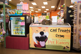 ice cream treats for dogs pets at PVPE