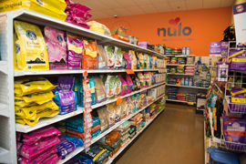 pet food stocked at PVPE