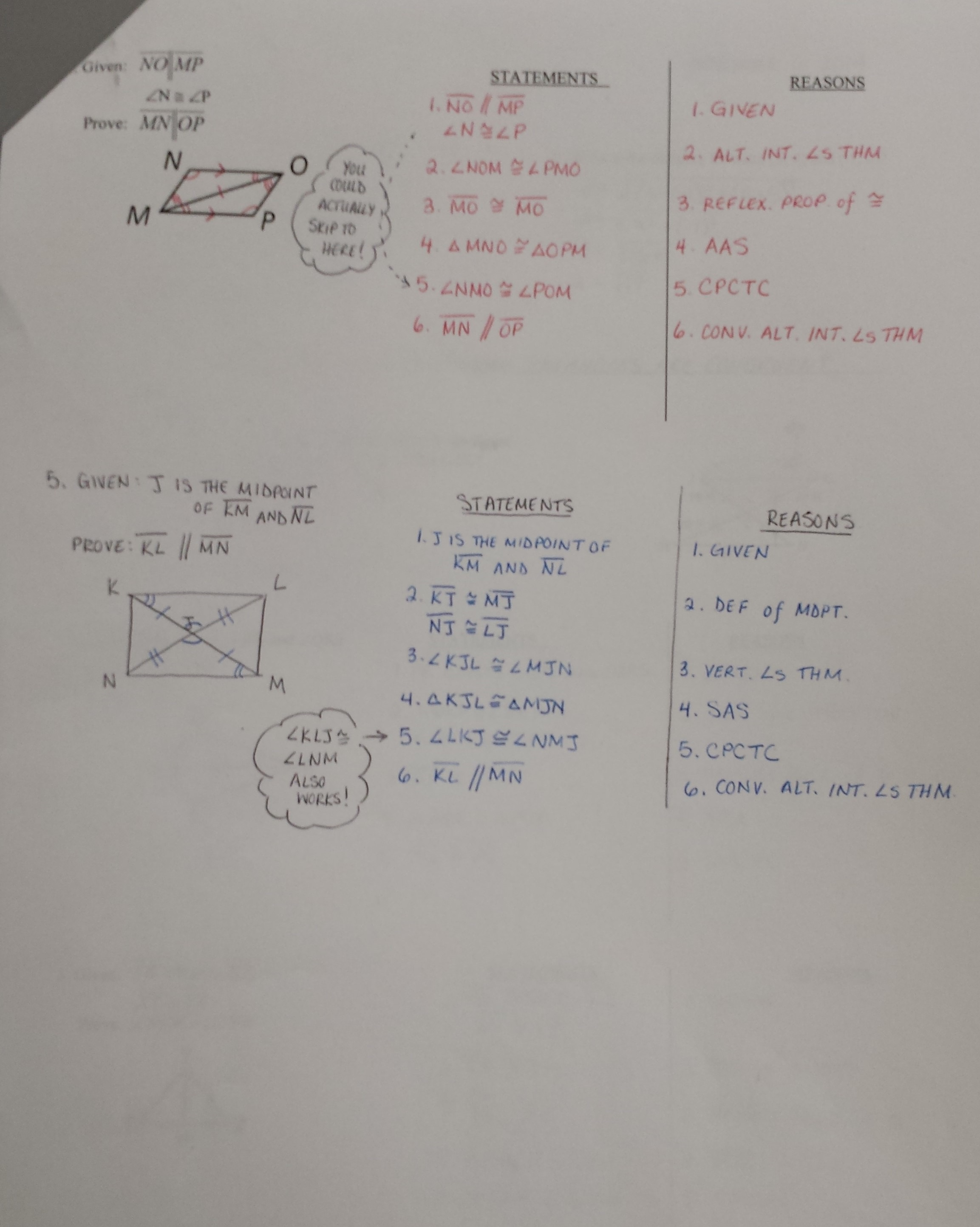 Homework Help Geometry Proofs Using Cpctc