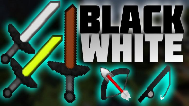 Huahwi UHC Resource Pack Black & White by AcePacks