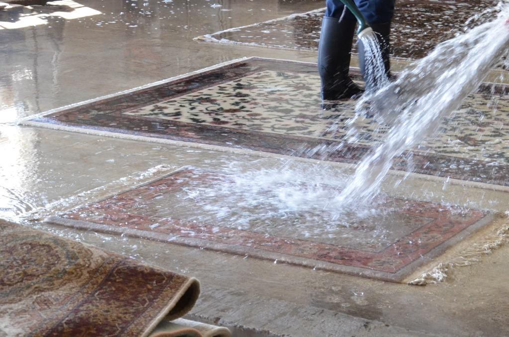 Professional Area Rug Cleaning Scottsdale AZ Hand Washing Rugs PV Rugs