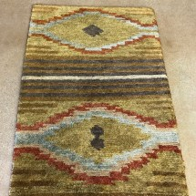 south-west-rug-dark-gold-rust-light-blue-overview