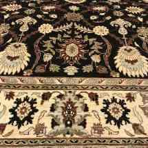 dark-brown-traditional-wool-rug-scottsdale-az-pv-rugs-overview