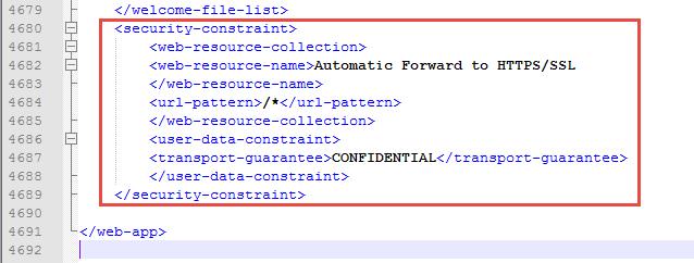 Webxml Security Constraint Url Pattern