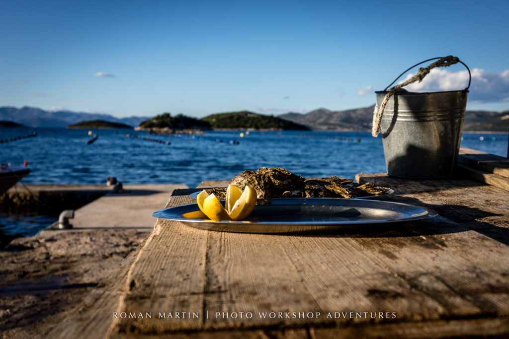 Croatian Oyster farm with PhotoWorkshopAdventures