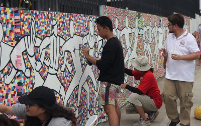 PWC Fine Arts partners with VSO in mural project