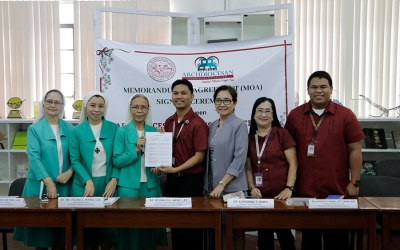 PWC signs MOA with Archdiocesan Nourishment Center
