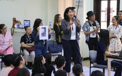 PWC Fashion Design students take part in workshop series