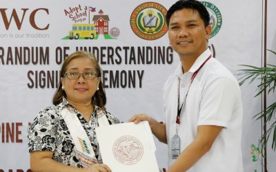 PWC signs MOU with Leon A. Garcia Sr. Elementary School