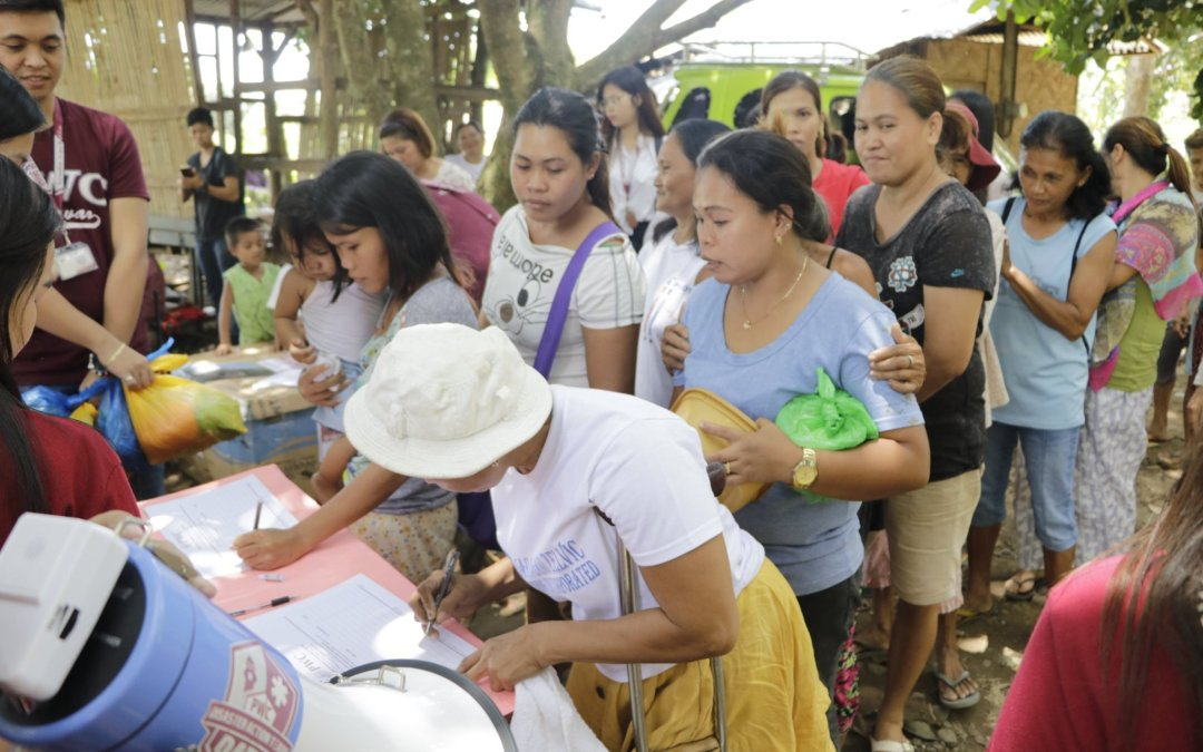 PWC gives aid to Davao flood victims