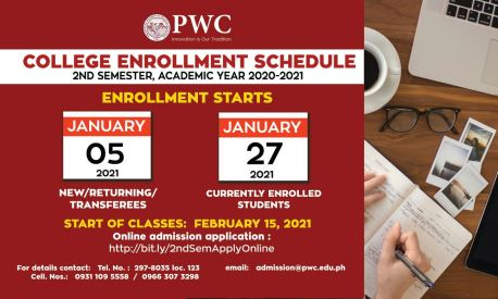 PWC Enrollment January 2021