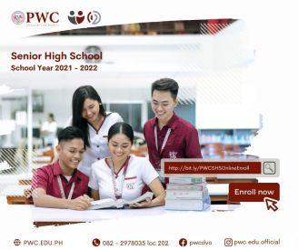 PWC SHS Online Enrollment