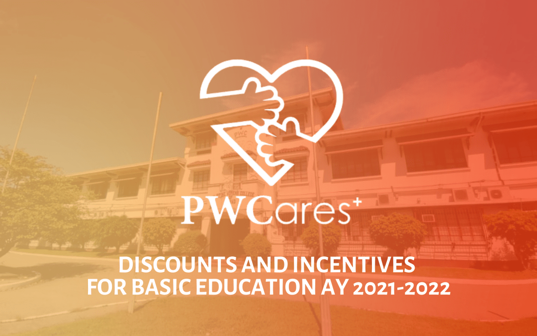 PWCares Discounts and Incentives for BED AY 2021-2022