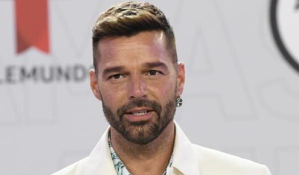 ricky martin  - ¡Upa! Ricky Martin dejó su trasero al descubierto en una videollamada grupal con Enrique Iglesias