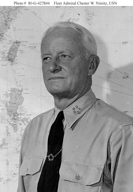 The Pacific War Online Encyclopedia Nimitz Chester W