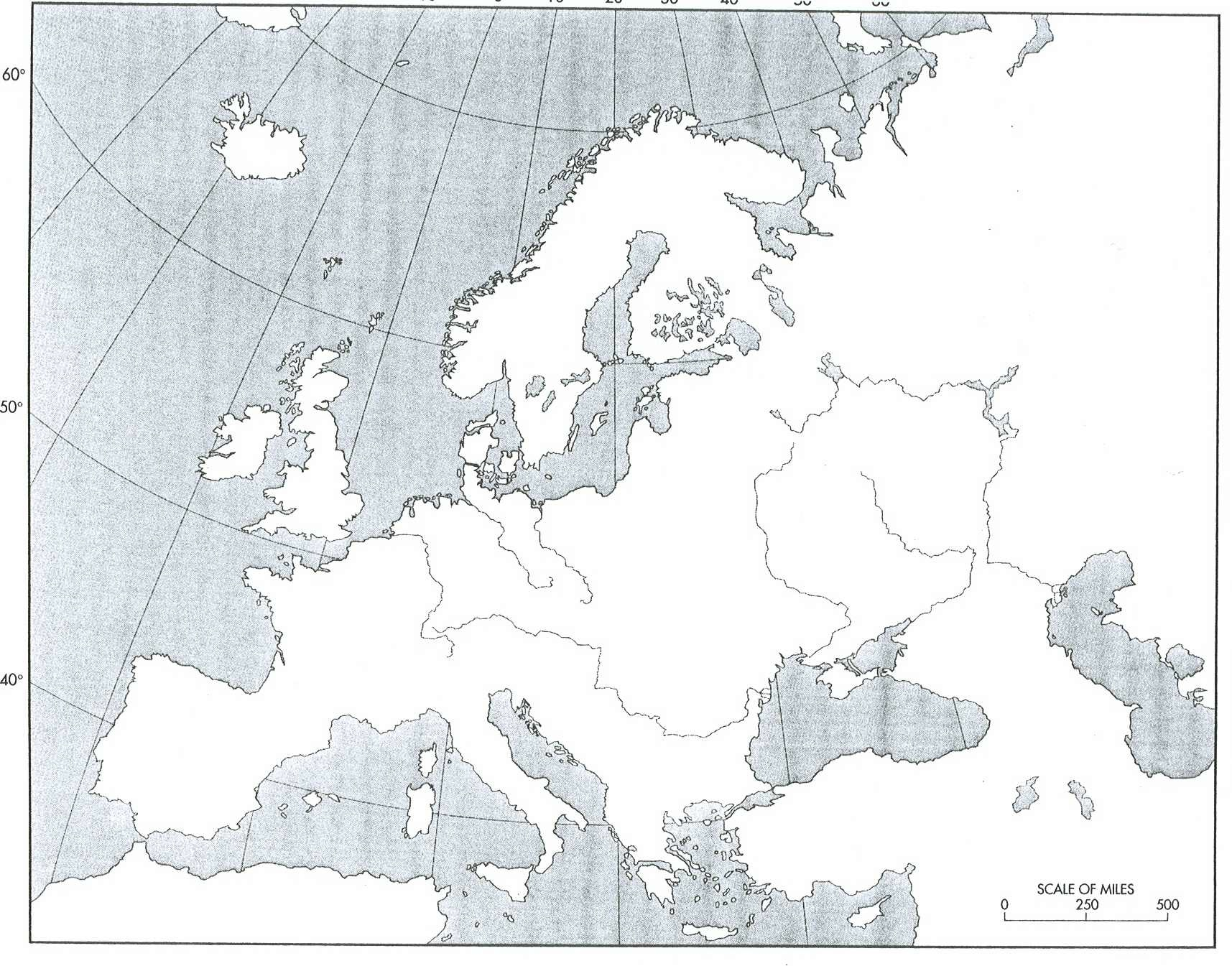 Map Western Quiz Europe Countries