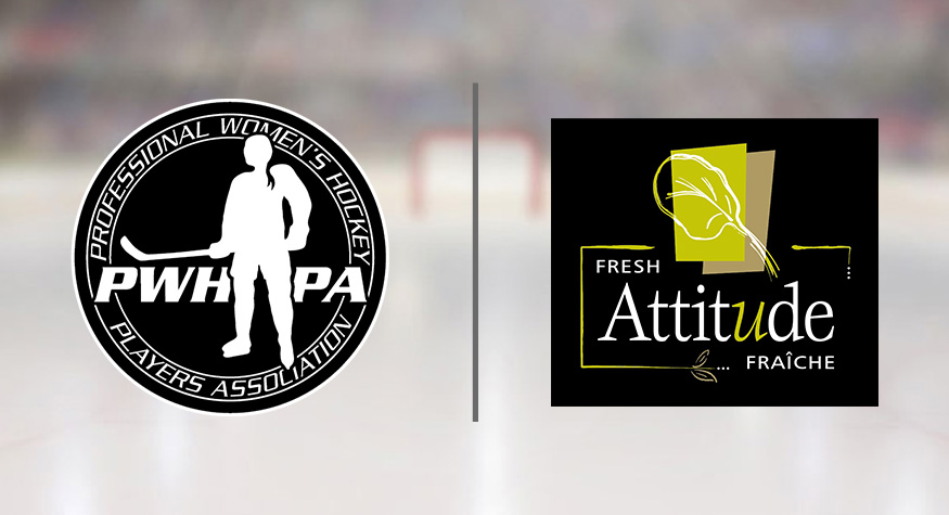 """Featured image for """"PWHPA Announces New Partnership With Fresh Attitude Salads"""""""
