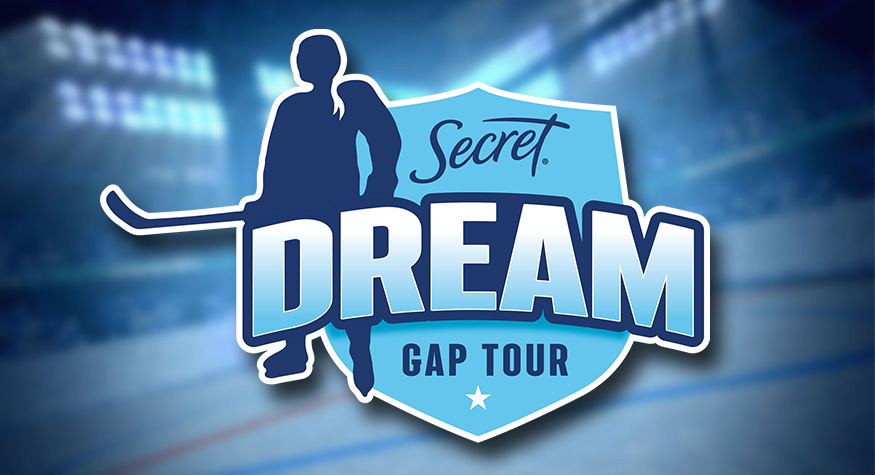 """Featured image for """"PWHPA's First Secret® Dream Gap Tour Game at Madison Square Garden to be Broadcast Live on NHL Network and Sportsnet"""""""