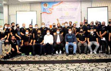 Aklamasi, Andhy Pimpin PWI Kota Bandung Periode 2021-2024