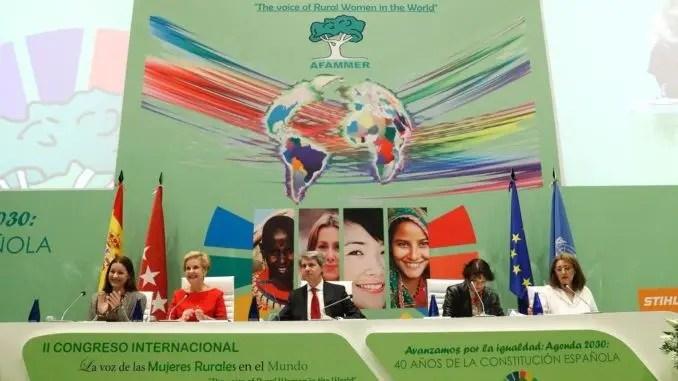 """II Congreso de AFAMMER """"La voz de las mujeres rurales en el mundo"""""""