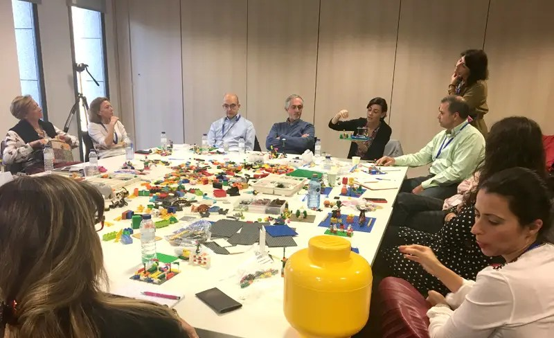 Coaching Lego serius play