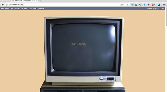 Screenshot of nanowasp.org