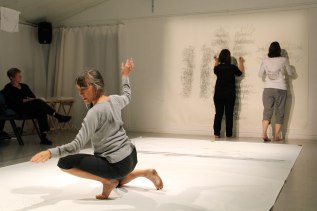 The Word Hand (Linda Austin, Pat Boas & Linda Hutchins) | photo: Chelsea Petrakis