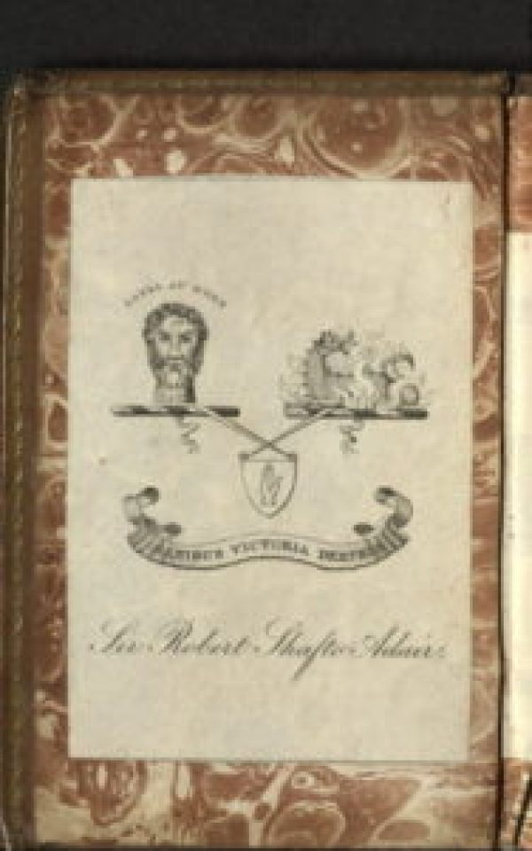 USTC 139280 Armorial Bookplate