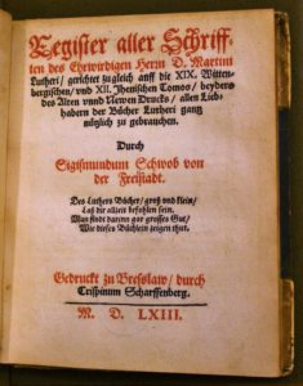 Register Title Page
