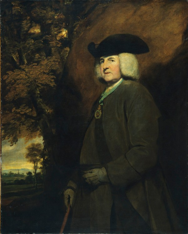 Joshua Reynolds, Portrait of Richard Robinson