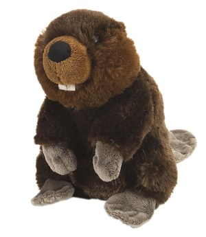 Wild Republic stuffed beaver plush toy