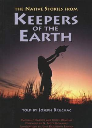 Native stories from Keepers of the Earth front cover