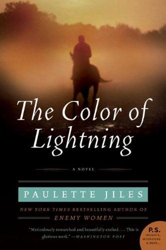 The Color of Lightning Paulette Jiles Cover