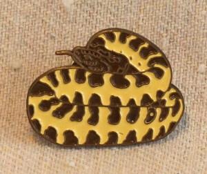 Prairie Rattlesnake Pin