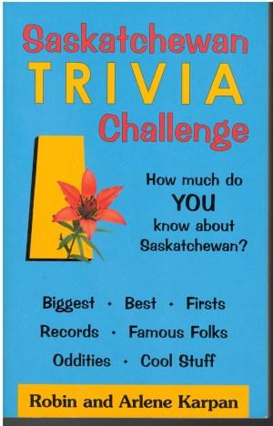 Saskatchewan Trivia Challenge - front cover