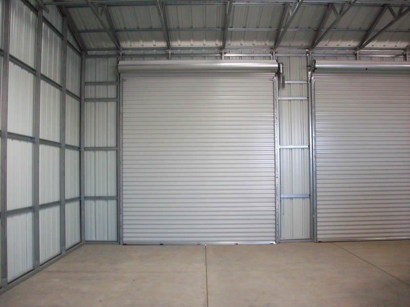 Steel Doors Customize Your PWS Building