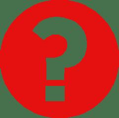 Afbeelding van een wit vraagteken in een rode cirkel.