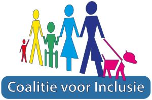 """Afbeelding van het logo van de """"Coalitie voor Inclusie"""""""
