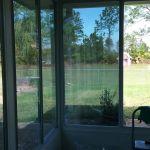 Profesiional window tinting on Oviedo Florida sunroom