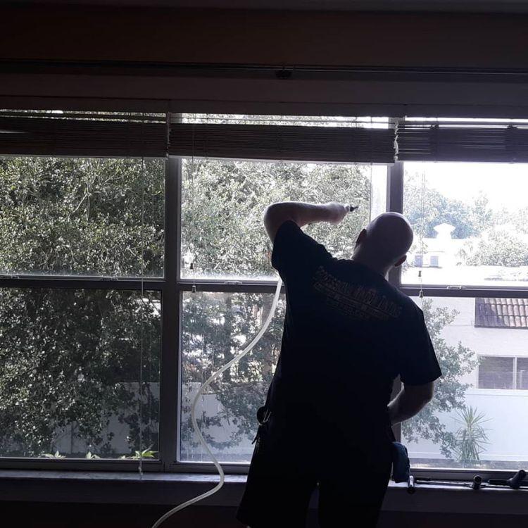 Installing Llumar Window Film