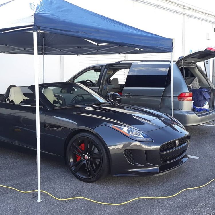 Mobile window film service. Professional Window Tinting of Central FL LLC