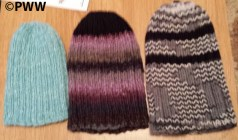Irene's toques for Angels for Warmth