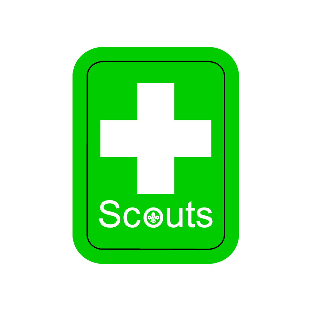 Adult First Aider Uniform Badge
