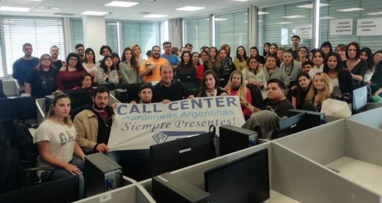 Resultado de imagen para call center aerolineas argentinas