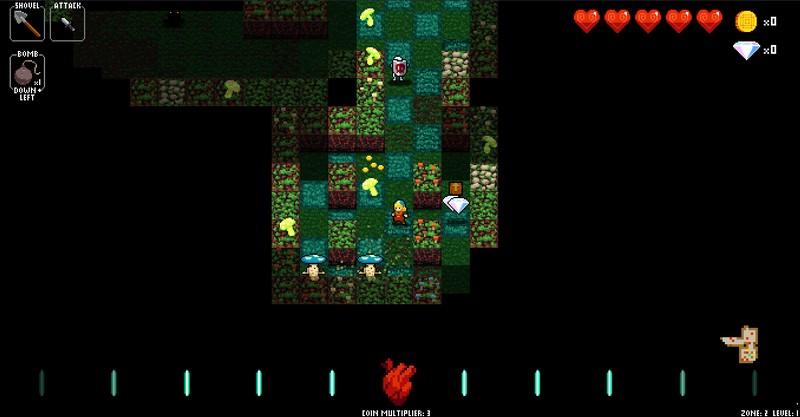 Crypt of the NecroDancer early access 0.37 alpha 004